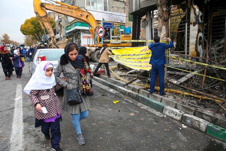 Image prise à Téhéran, en Iran, le 20 novembre 2019.