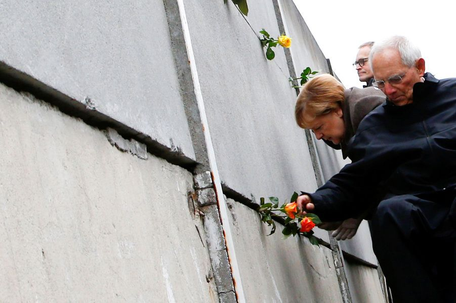 Angela Merkel célèbre les 30 ans de la chute du Mur de Berlin