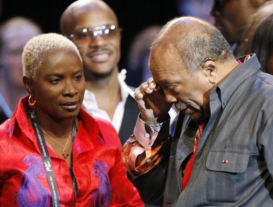 Angelique Kidjo au 75e anniversaire de Quincy Jones au Festival de Montreux en 2008