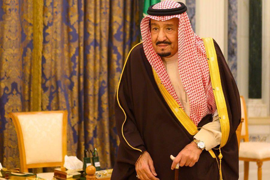 Le roi Salmane d'Arabie saoudite, 83 ans.