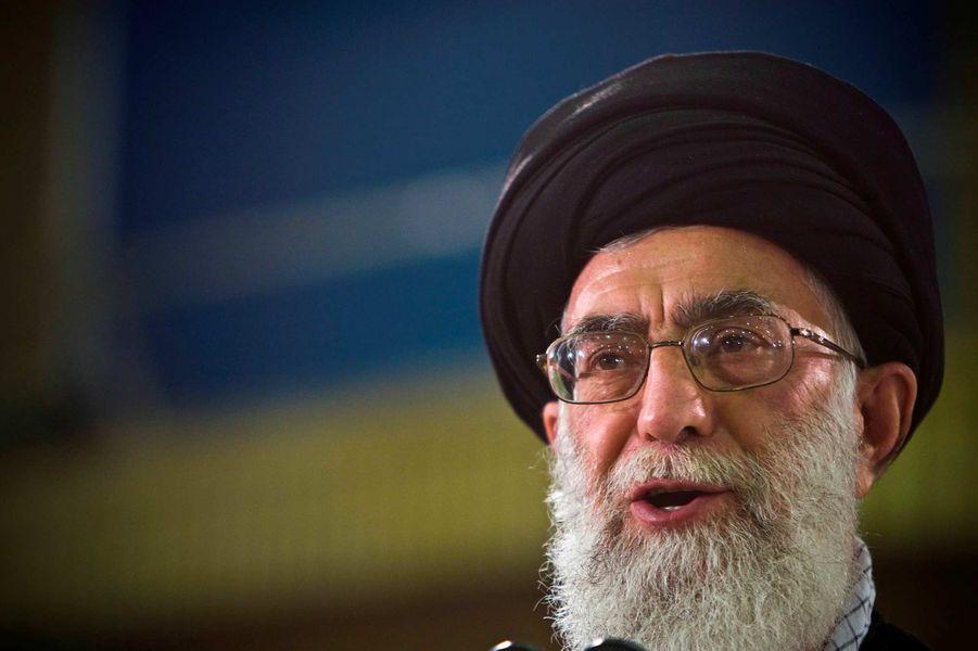 LeGuide suprême de la République islamique iranienne l'ayatollah Ali Khamenei, 80 ans.