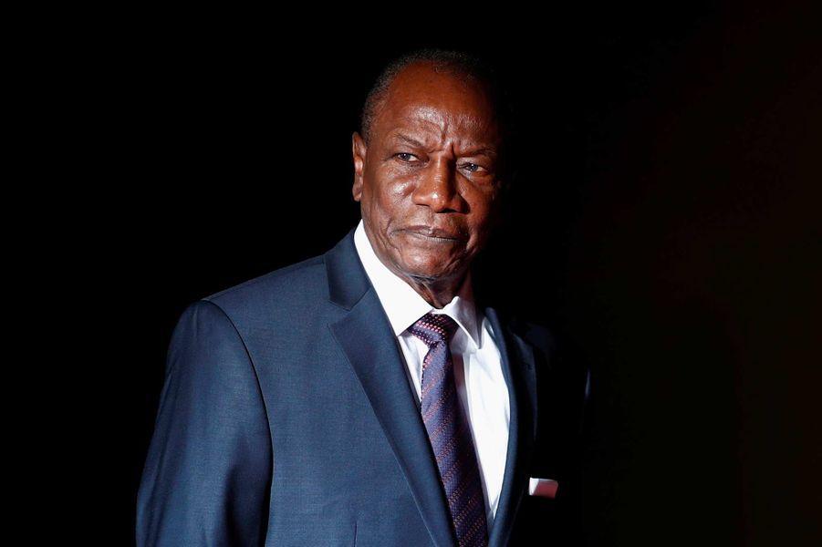 Le président guinéenAlpha Condé, 81 ans.