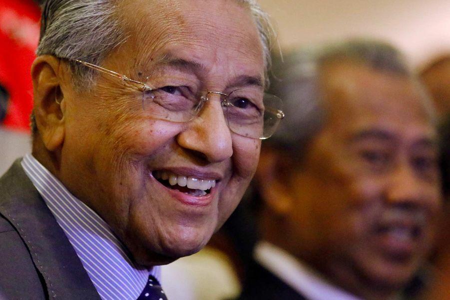 Le Premier ministre malaisien Mahathir Mohamad, 94 ans.