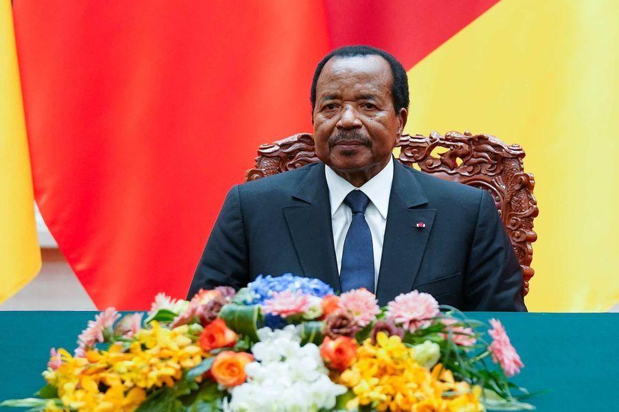 Le président camerounais Paul Biya, 86 ans.