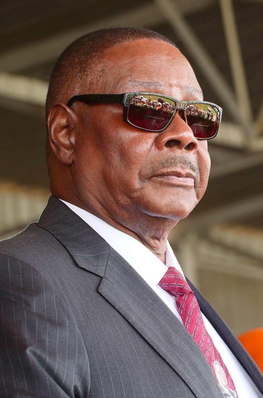 Le président du Malawi Peter Mutharika, 80 ans.