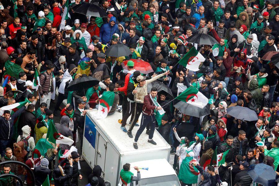 Manifestation à Alger, le 22 mars 2019.