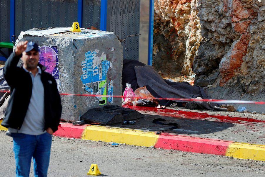 L'armée israélienne a annoncé avoir boucléRamallah après une attaque, le 13 décembre 2018.