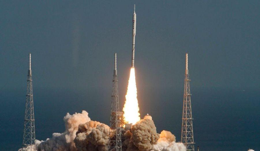 A 15h30 GMT mercredi, la fusée Ares 1-X décollait de Cap Canaveral, pour une mission test de deux minutes.