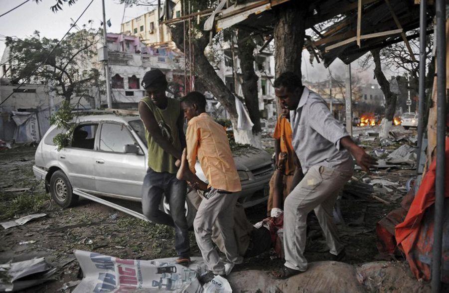 Attentat dans un hôtel de Mogadiscio