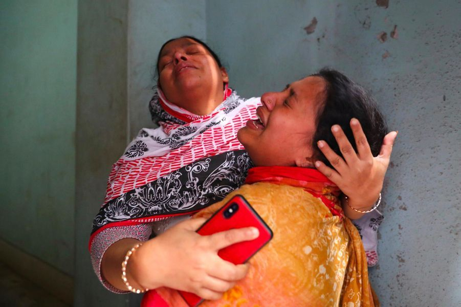 Un incendie a fait au moins 70 morts à Dacca, au Bangladesh, le 21 février 2019.