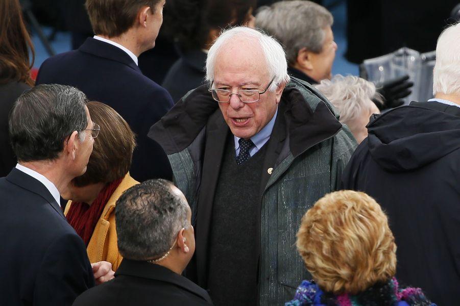 Bernie Sandersà l'investiture de Donald Trump, le 20 janvier 2017.