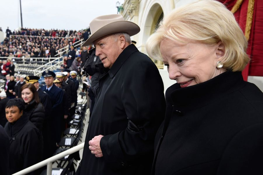 Dick Cheneyà l'investiture de Donald Trump, le 20 janvier 2017.
