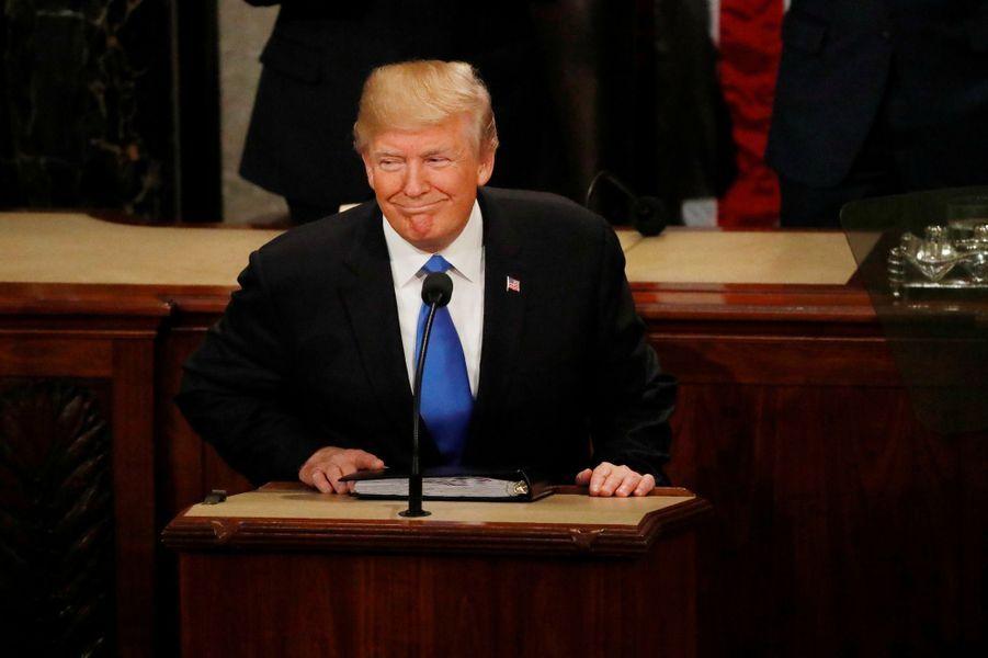 Donald Trumpau discours de l'Etat de l'Union.