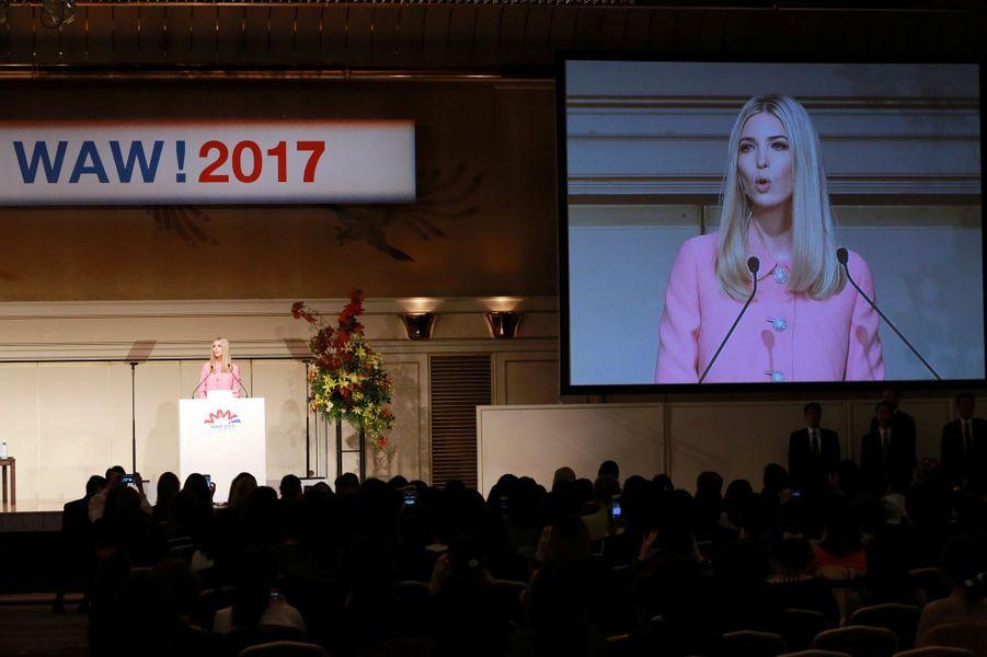 Ivanka Trump à Tokyo, le 3 novembre 2017.