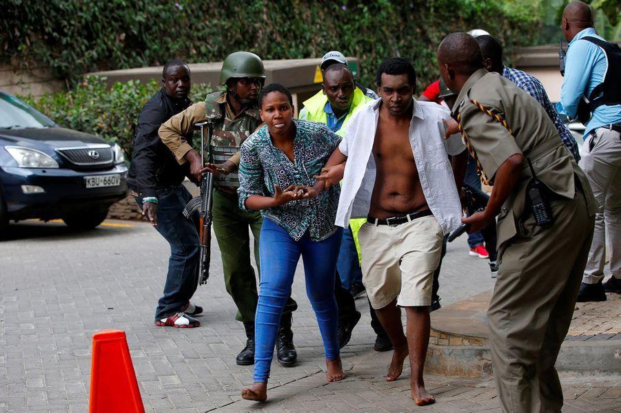 Une explosion a retenti à Nairobi, au Kenya, le 15 janvier 2019.