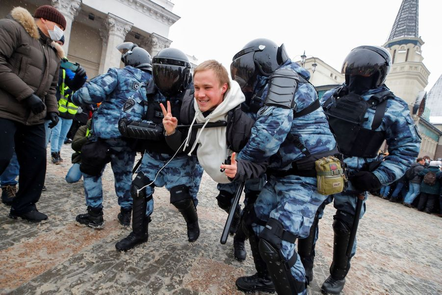 2021 01 31T110656Z 613172509 RC2ZIL9XQ2HY RTRMADP 3 RUSSIA POLITICS NAVALNY PROTESTS