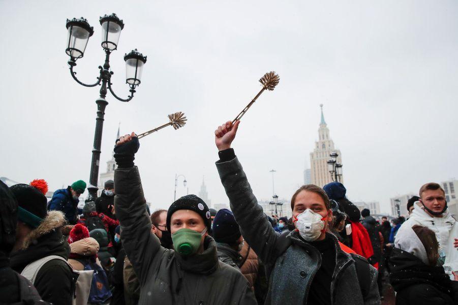 2021 01 31T113007Z 1761086485 RC2ZIL9FW3QV RTRMADP 3 RUSSIA POLITICS NAVALNY PROTESTS