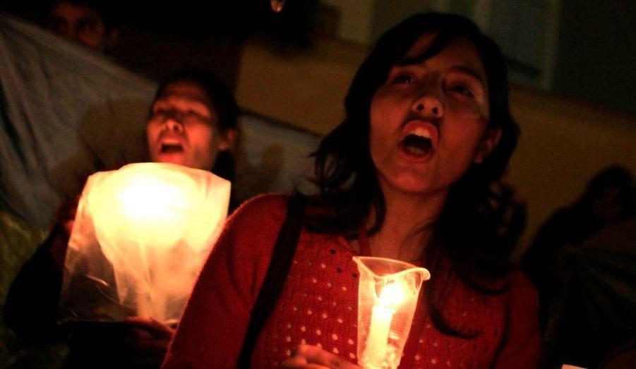 Le cri des femmes manifestant contre Newmont