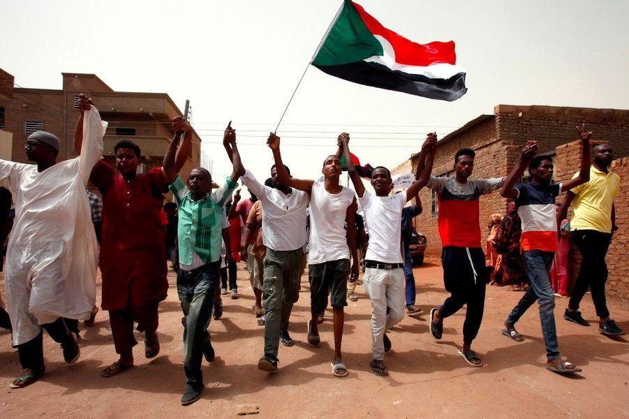 Manifestation à Khartoum, au Soudan, le 30 juin 2019.