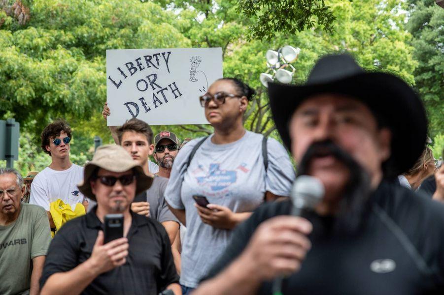 Manifestation à Austin, au Texas, le 28 juin 2020.