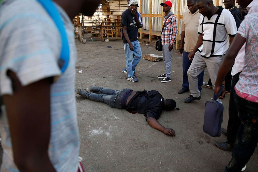Un homme a été tué mercredi à Harare.