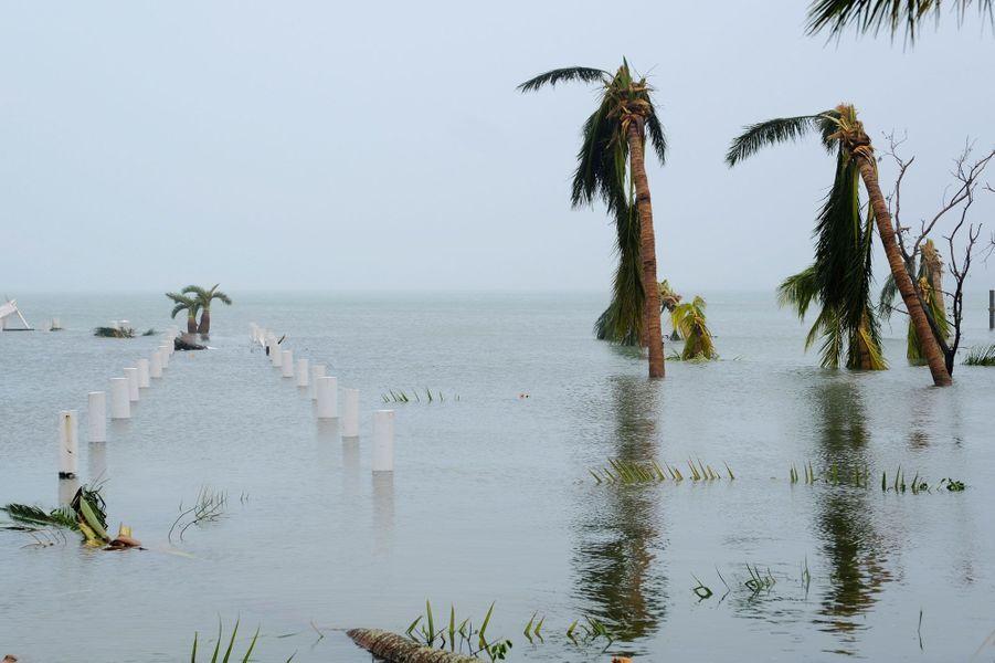 La dévastation aux Bahamas.