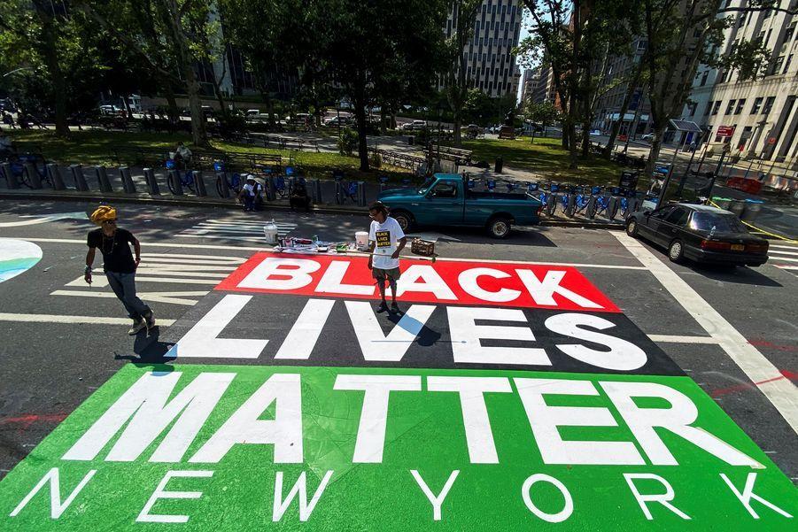 "Les ""Black Lives Matter"" de Manhattan."