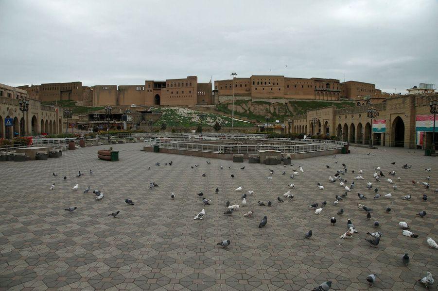 La vieille ville d'Erbil (Irak), le 14 mars.