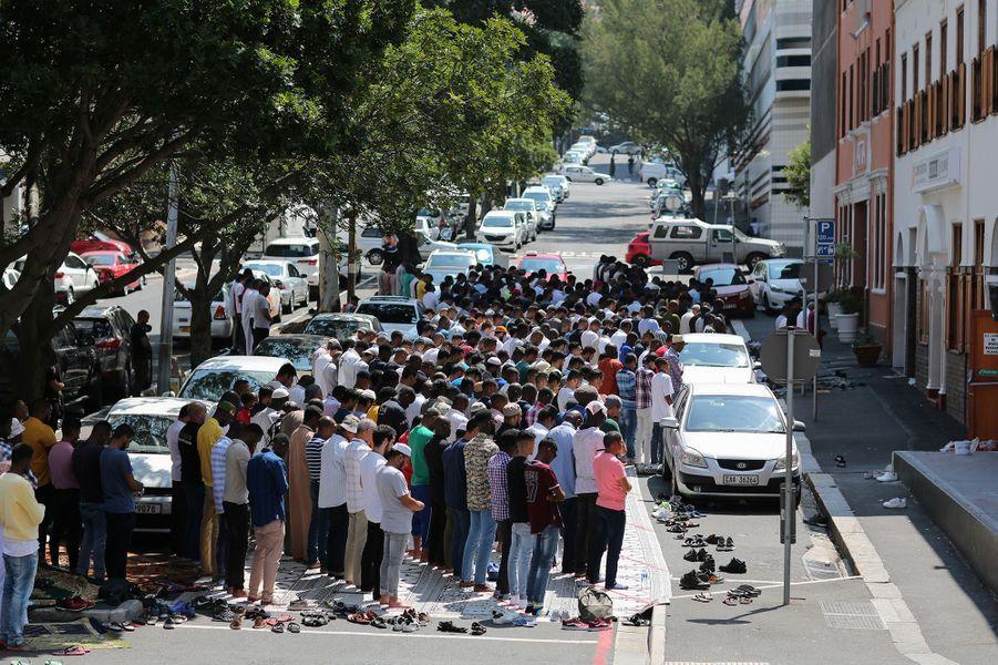 Une rue du Cap (Afrique du Sud), le 6 mars.