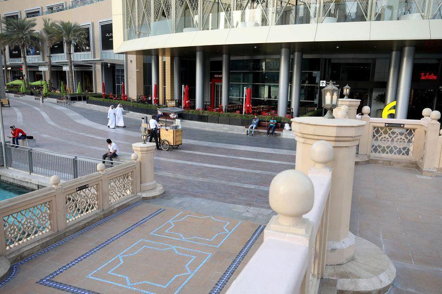 Le Dubai Mall à Dubaï, le 23 mars.