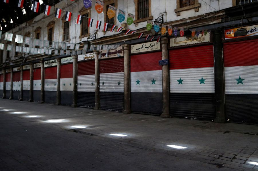 Un souk àDamas (Syrie), le 26 mars.