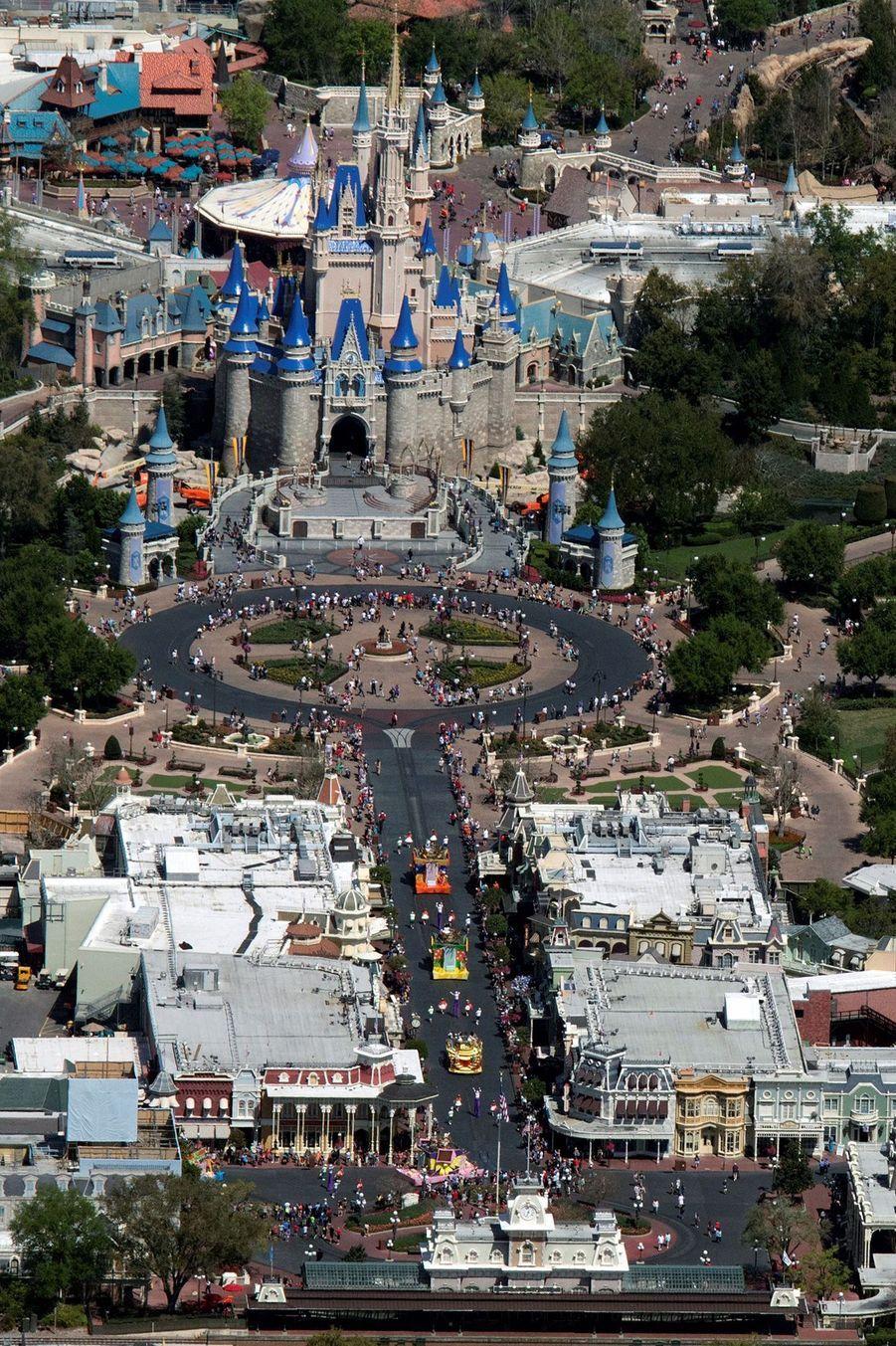 Le parc de Disney Orlando avant l'épidémie de coronavirus.