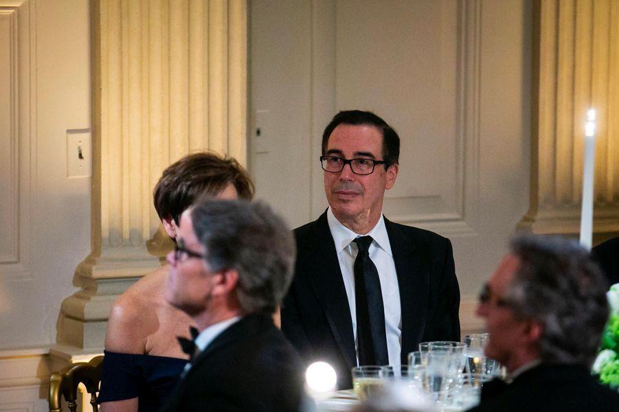 Steven Mnuchinlors du Governors Ball à la Maison-Blanche, le 24 février 2019.