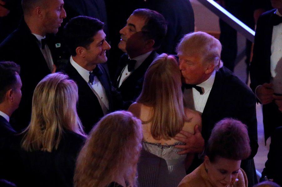 Le repas de gala de Donald Trump