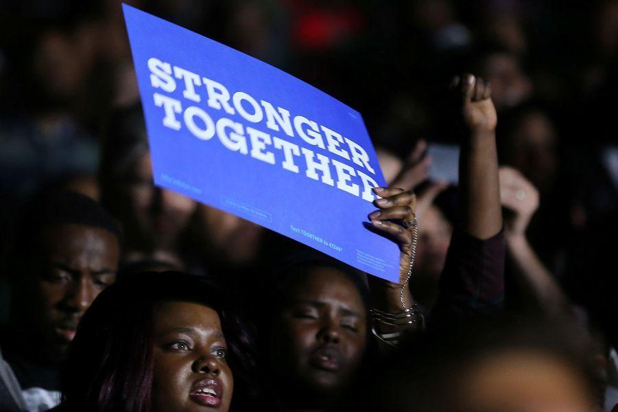 Dans le public de la salle de Cleveland, le vendredi 4 novembre 2016.