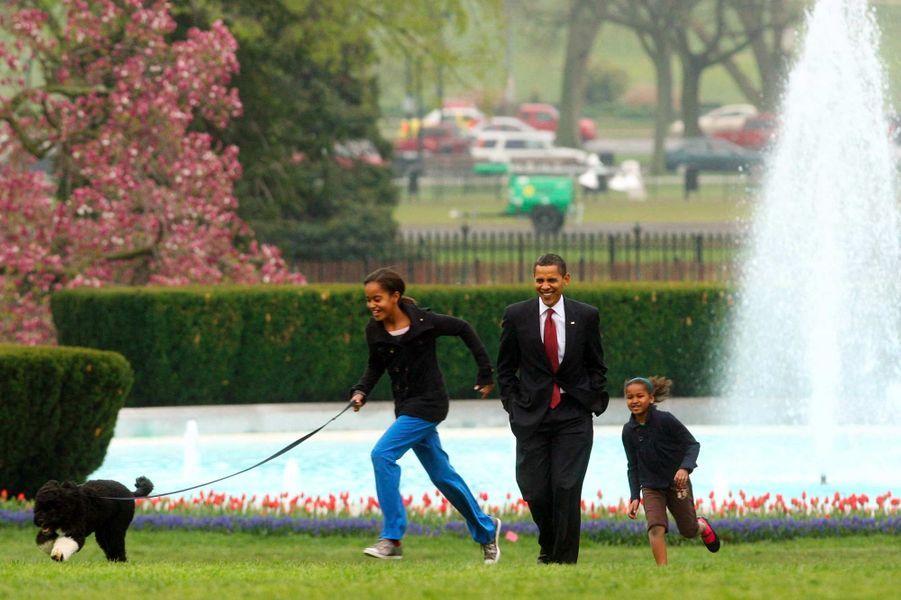 Barack Obama avril 2009