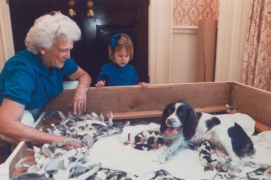 Barbara Bush mars 1989