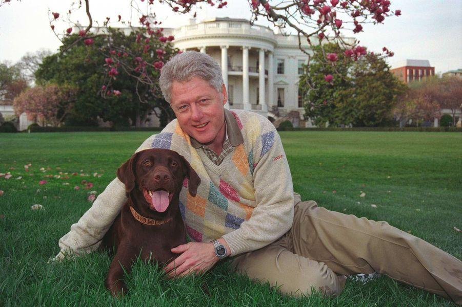 Bill Clinton Buddy avril 1999