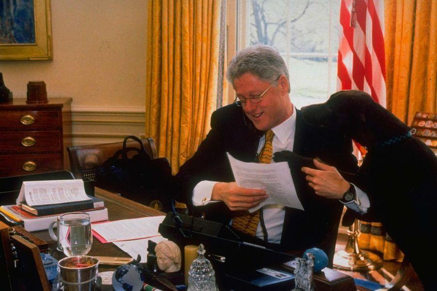 Bill Clinton Buddy mars 1998