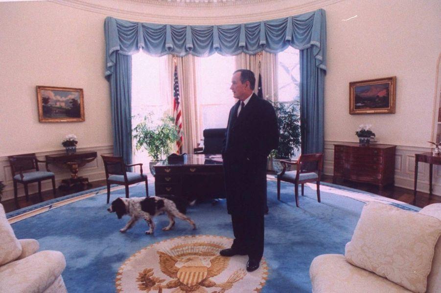 George HW Bush janvier 1993