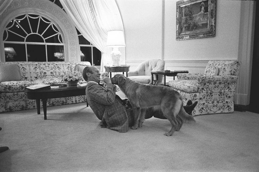 Gerald Ford fevrier 1975