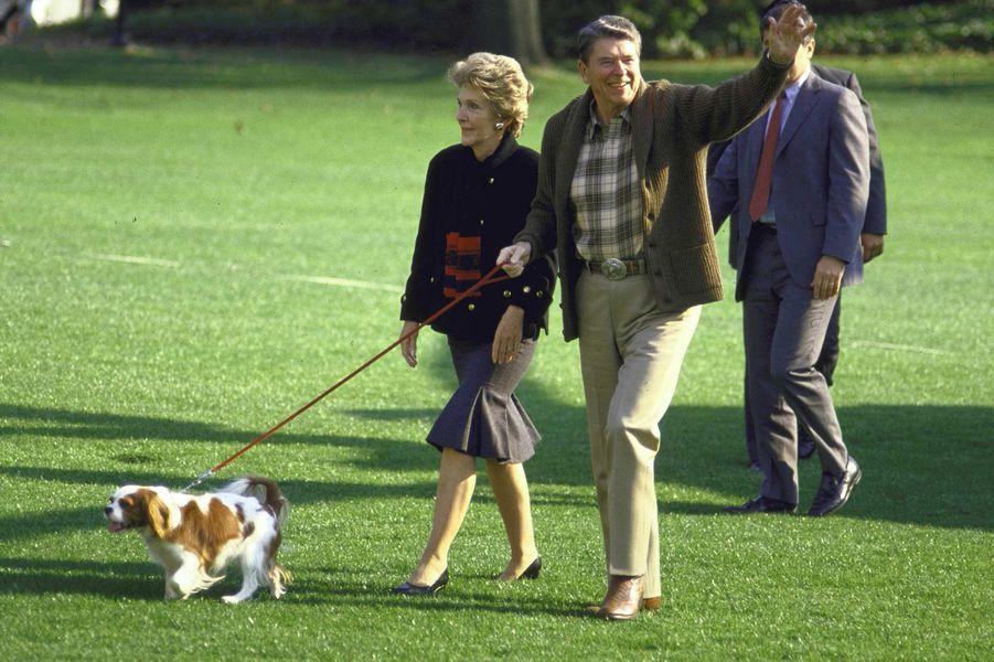Ronald Reagan octobre 1987