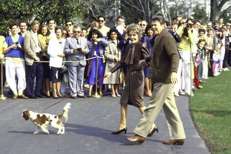 Ronald Reagan Rex mars 1986