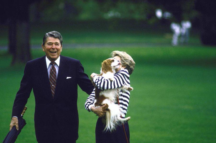 Ronald Reagan septembre 1987