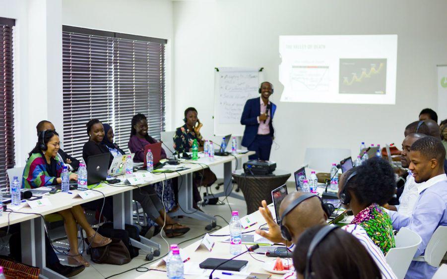 Workshop à l'Ibis Hotel d'Accra le 10 Juillet 2018