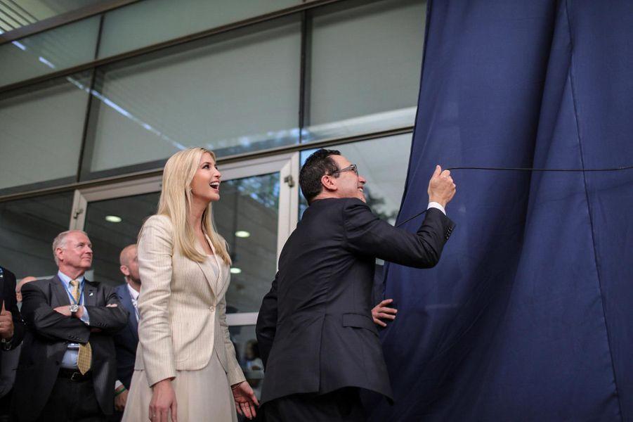 Ivanka Trump et Steven Mnuchin à Jérusalem, le 14 mai 2018.