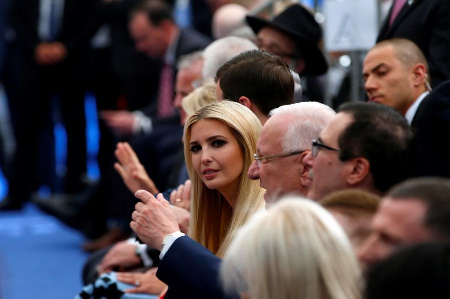 Ivanka Trump à Jérusalem, le 14 mai 2018.