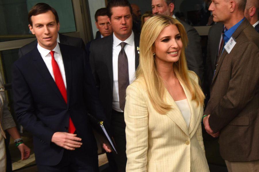 Ivanka Trump et Jared Kushner à Jérusalem, le 14 mai 2018.