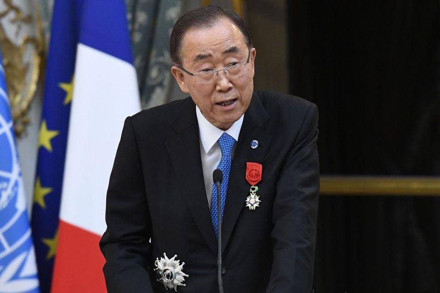 Ban Ki-moon jeudi à l'Elysée