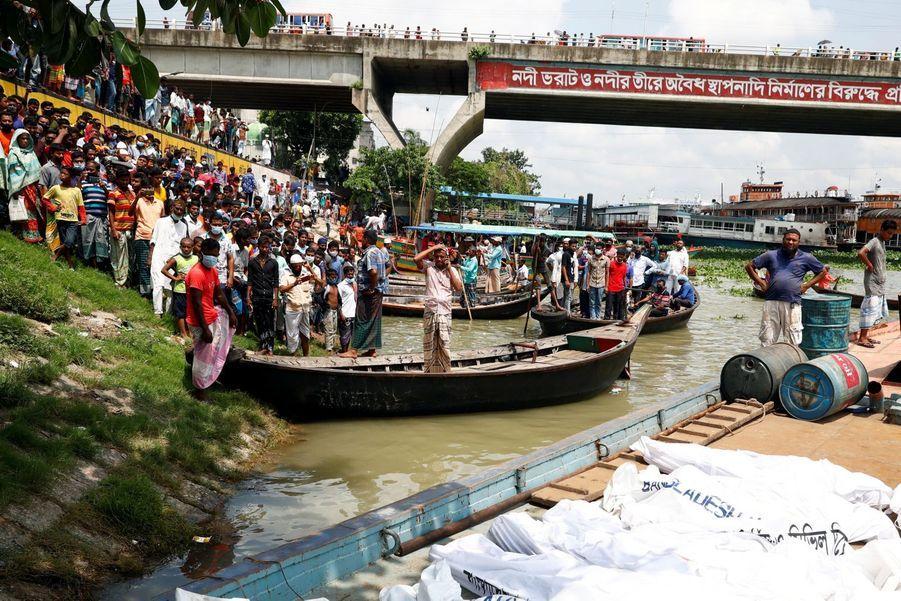 L'accident a eu lieu dans la rivière Buriganga à Bacca.